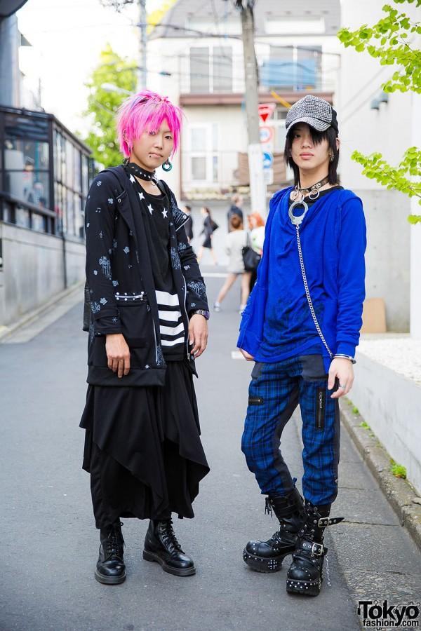Harajuku Guys' Street Styles w/ Algonquins, Yosuke, RUO, ACDC & Dr. Martens