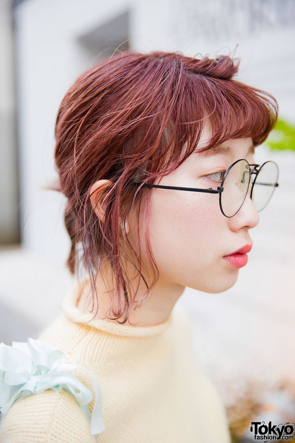 Cute Harajuku Style With Glasses