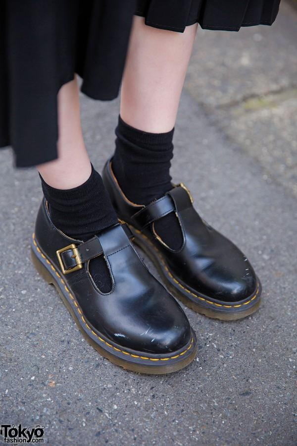 Dr. Martens Shoes & Black Socks