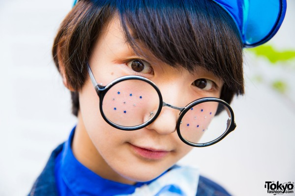 Glasses With Stickers