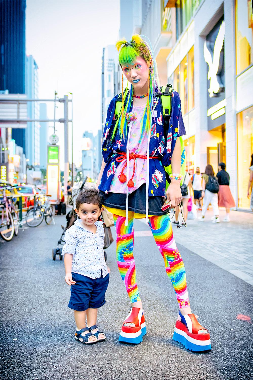 colorful  u0026 kawaii 6 dokidoki fashion on the street in harajuku