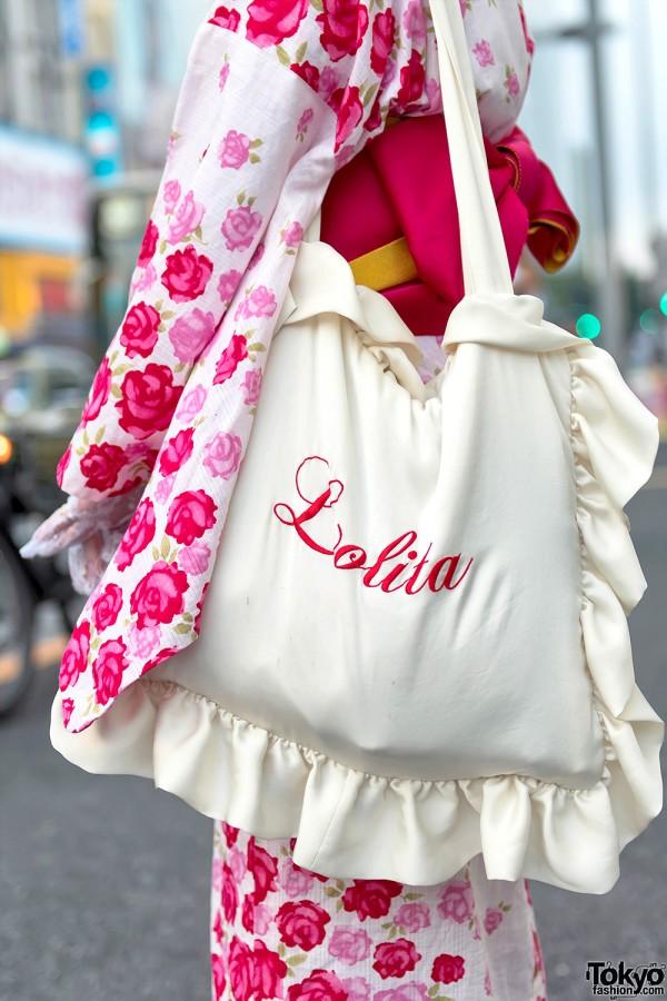 Himitsu by Syrup Lolita Ruffle Bag