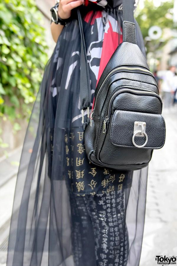 Nyulycadelic O-Ring Shoulder Bag