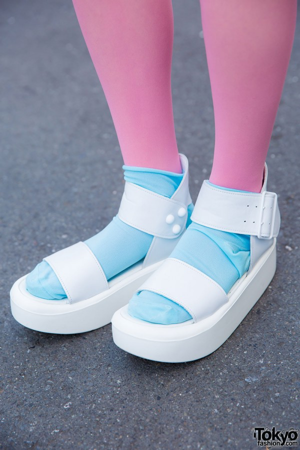 Tokyo Bopper Sandals With Socks