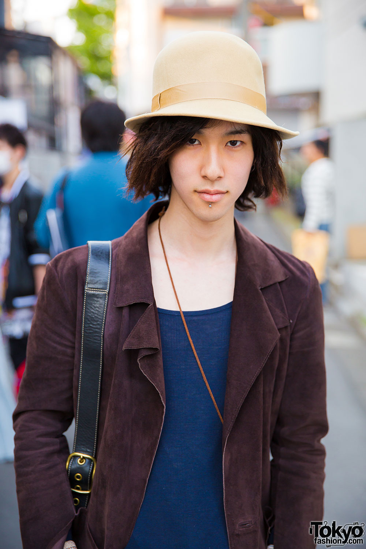 Bunka Fashion College Student W Pink Boots 6 Dokidoki: Bunka Fashion College Students In Harajuku Wearing Vintage