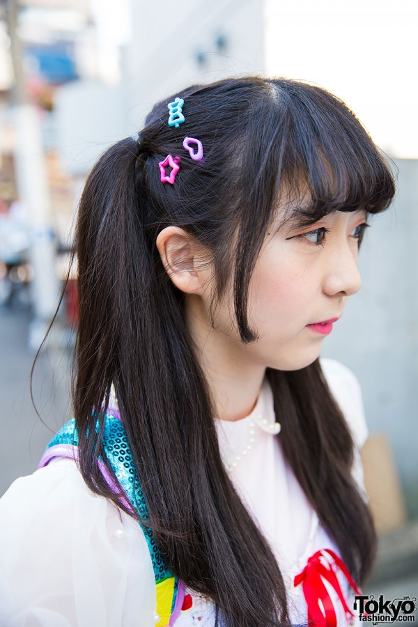 Harajuku Girl in Twin Tails