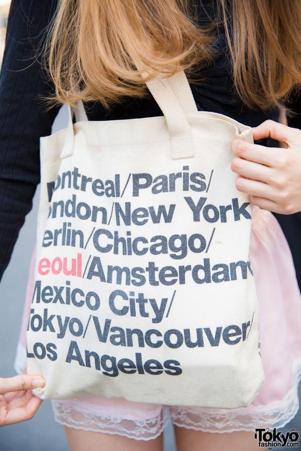 American Apparel Cities Bag
