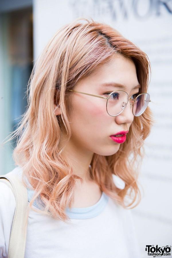 Harajuku Girl With Glasses