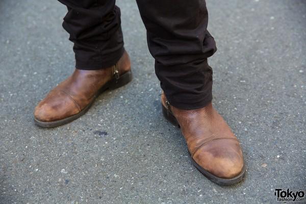 Zara Boots in Harajuku