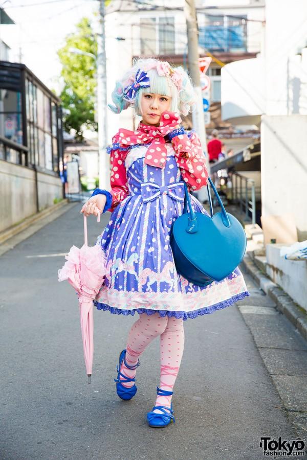 Harajuku Lolita in Vivienne Westwood & Angelic Pretty Jumperskirt
