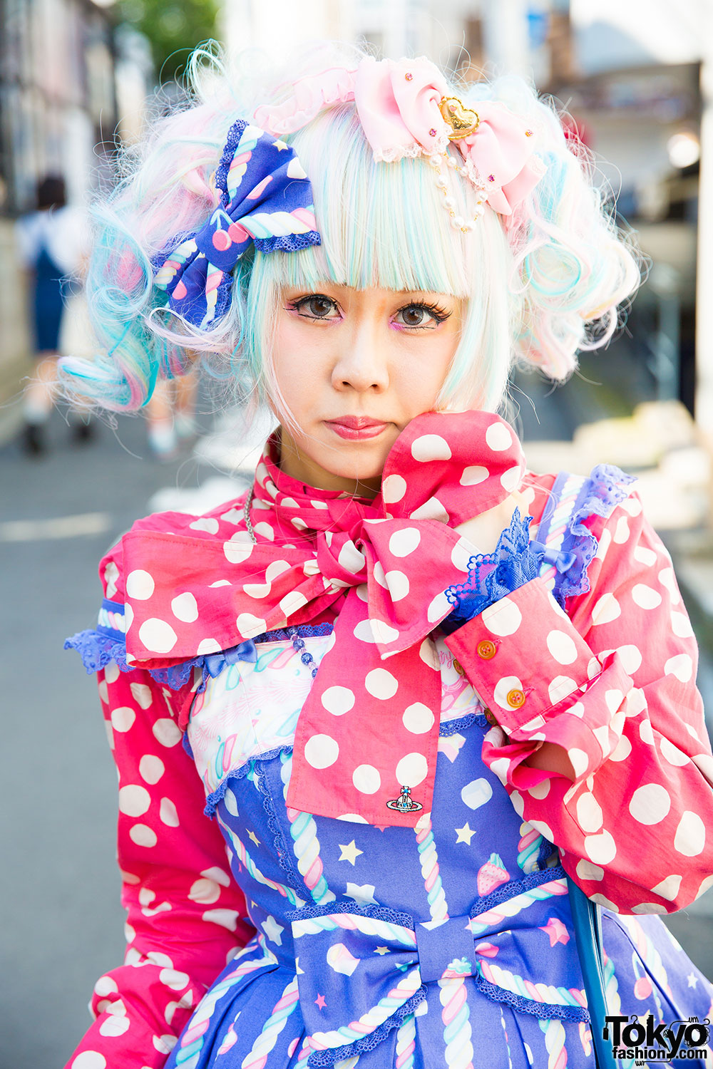 Pastel Haired Harajuku Lolita In Angelic Pretty Amp Vivienne Westwood