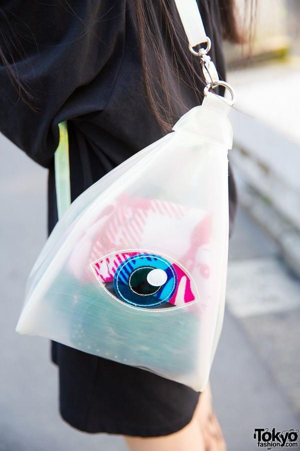 Translucent Eye Bag