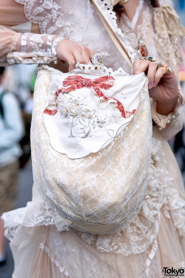 Freckleat Lace Bag in Harajuku