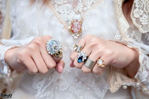 Rings from Too Much Harajuku & Ruka