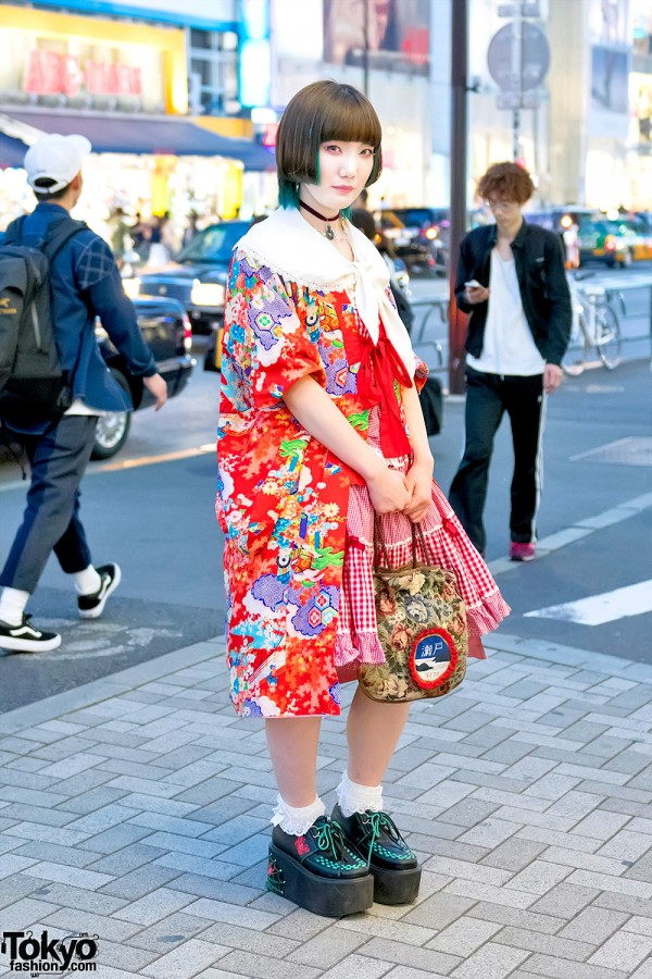 Harajuku Kimono Jacket & Creepers