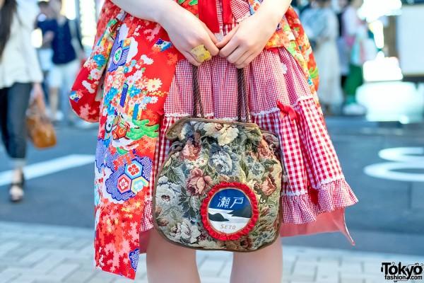 Kuroi Kagayaki Handbag (黒いカガヤキ)