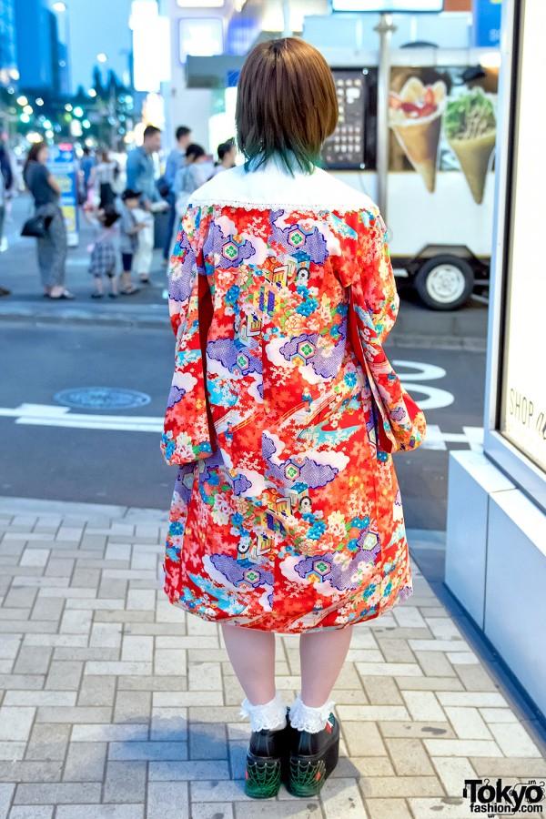 Kimono Jacket in Harajuku