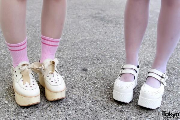 Tokyo Bopper x Yosuke Platform Shoes