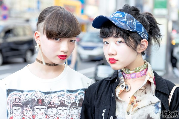 Ai Yamada & Towa in Harajuku