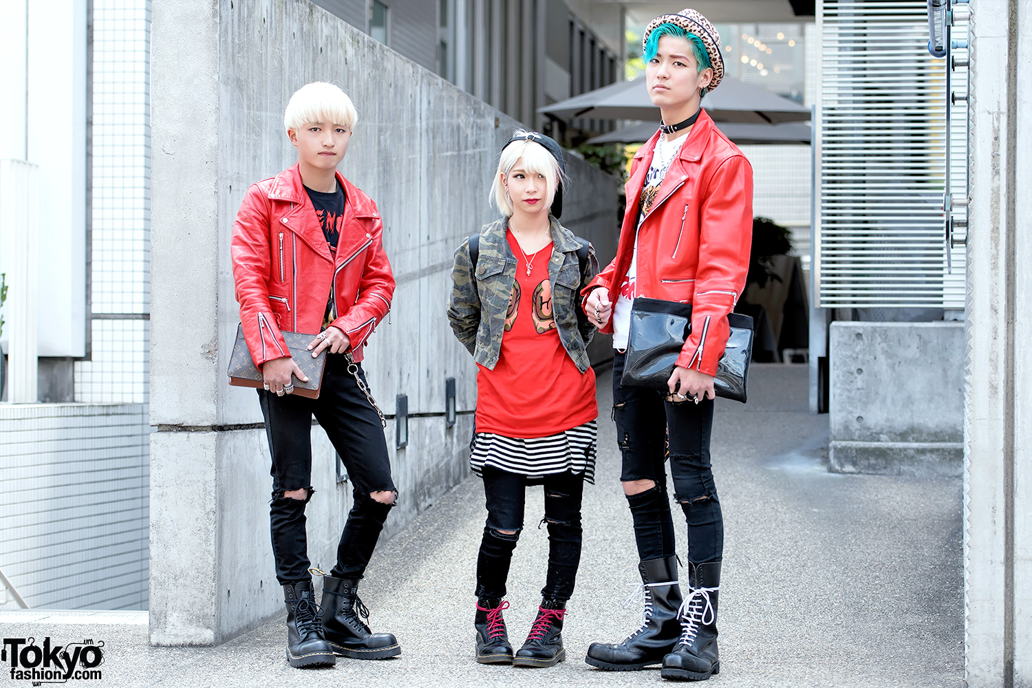 52297fb26bdb Harajuku Punk Styles w  666 Japan Leather Jackets