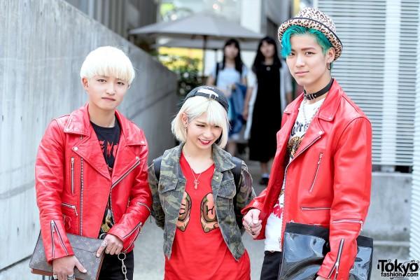 Punk Inspired Harajuku Fashion
