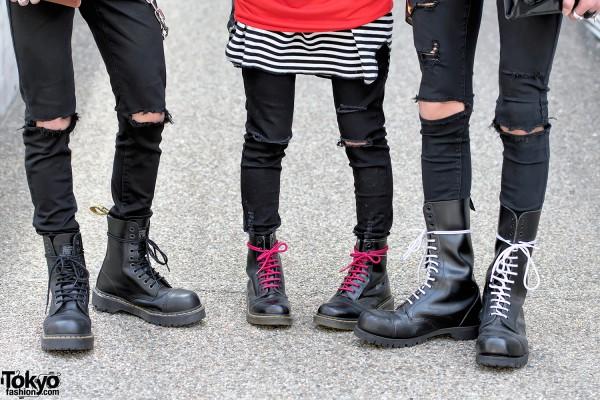 Dr. Martens x Getta Grip Punk Boots