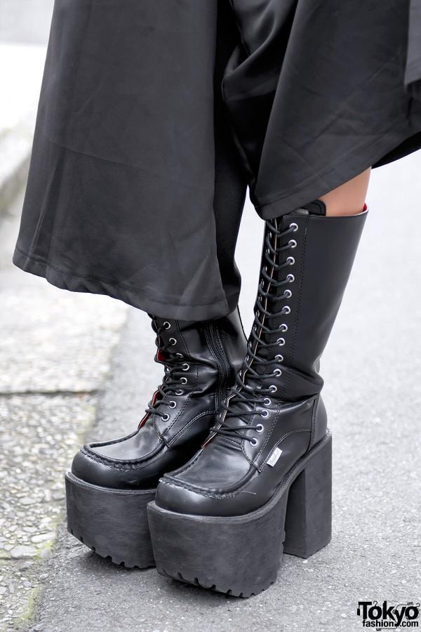 Tall Platform Yosuke Boots