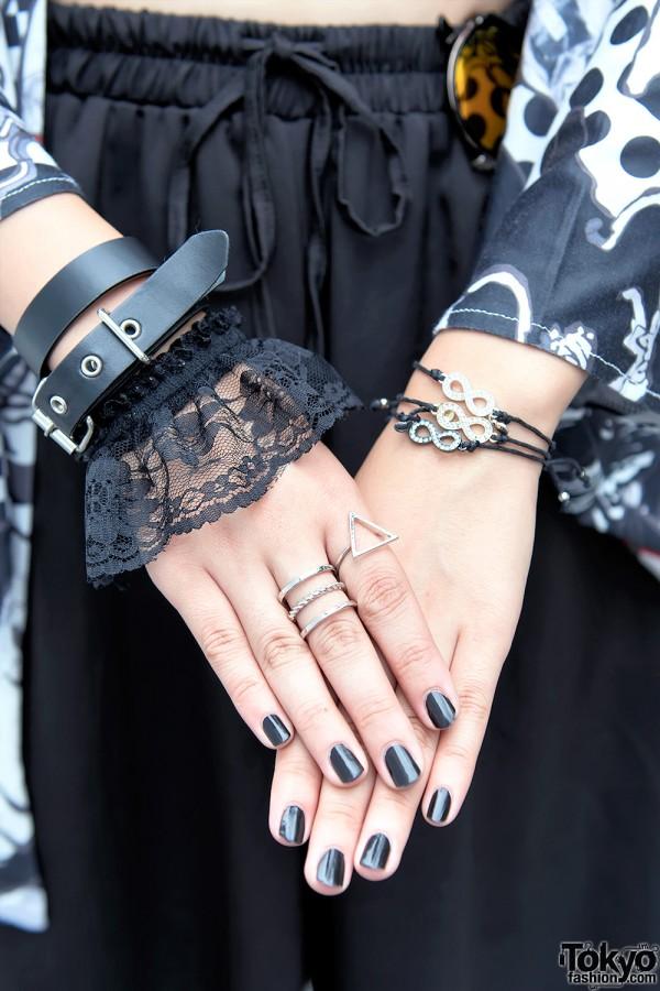 Lace Bracelet, Hellcat Punks & Handmade Accessories