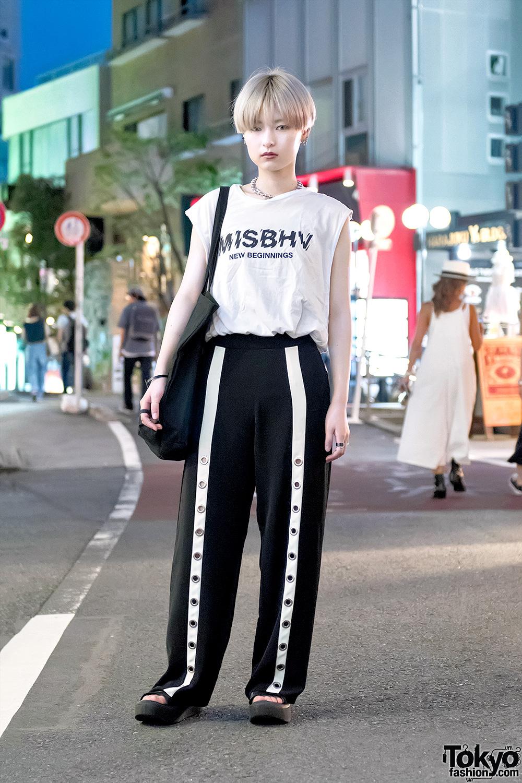 Harajuku Streetwear Style W Misbhv Myob Nyc Monomania Tokyo Bopper