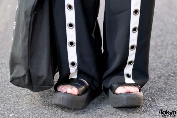 Tokyo Bopper Platform Sandals