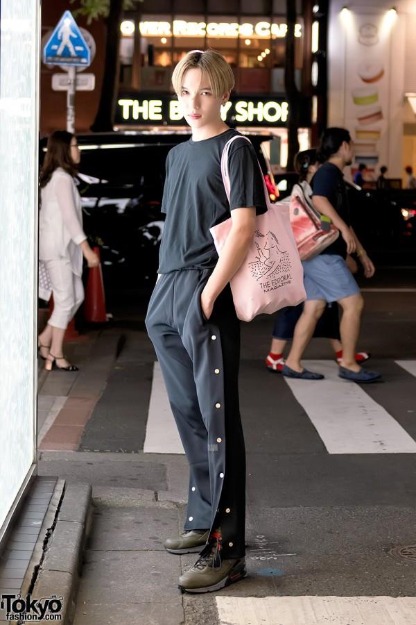 "Naopis in Harajuku w/ Olive & Frank ""Bad Girls Club"" Tee, Like A Virgin & Editorial Magazine"