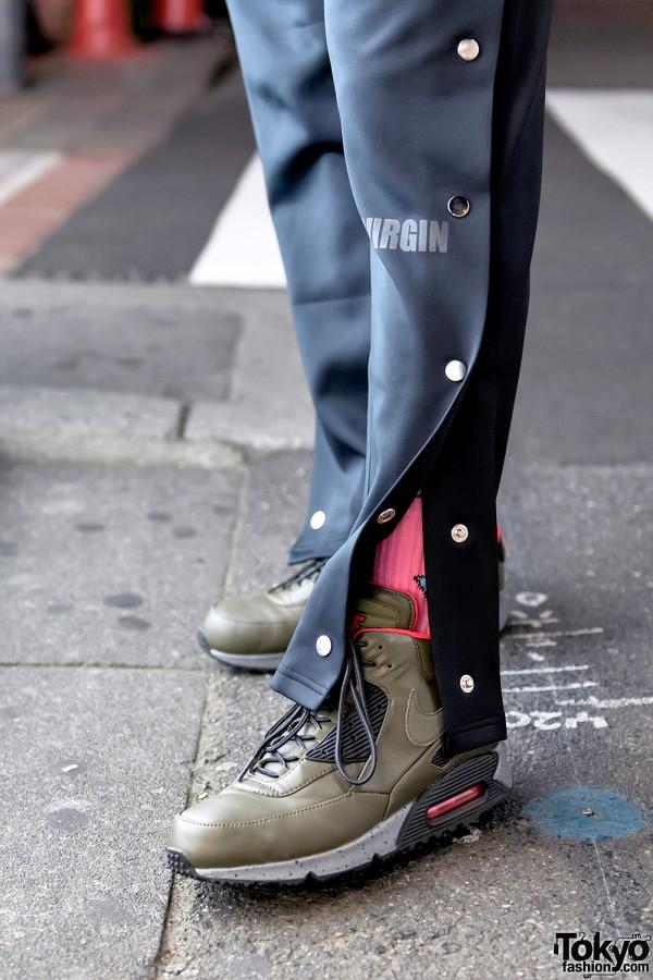 Like a Virgin Fashion Brand Pants & Nike Sneakers