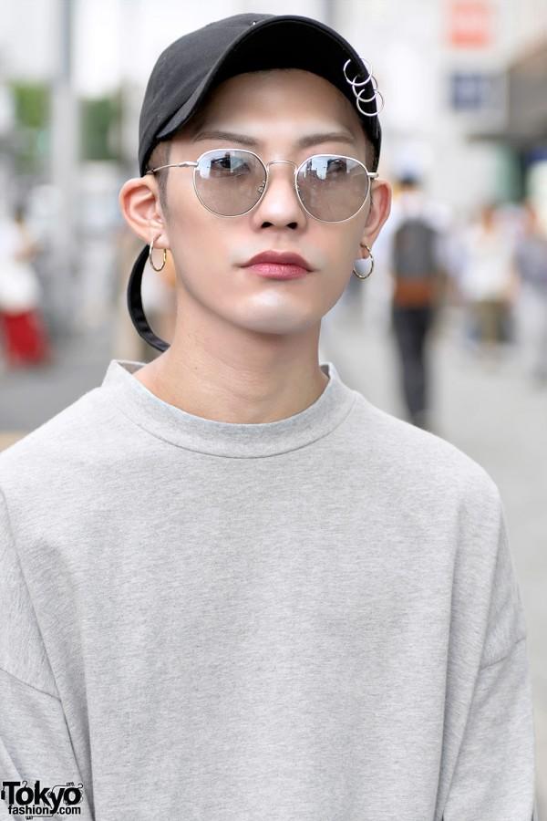 Vetements Long Sleeve Top, Harajuku