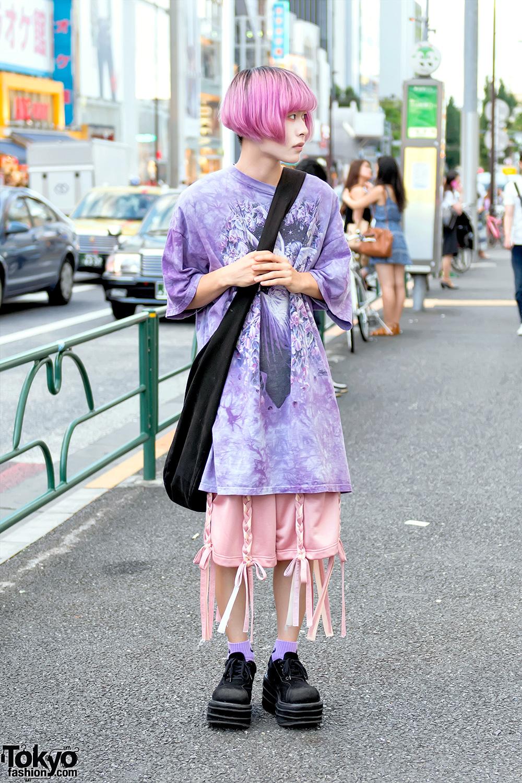 Harajuku Guy W Pastel Hair In Nicopanda Amp Demonia