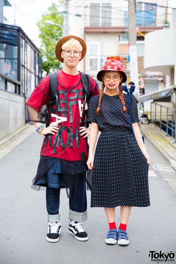 Harajuku Duo in Resale Fashion, Nozomi Ishiguro, Phenomenon, Vans & Converse