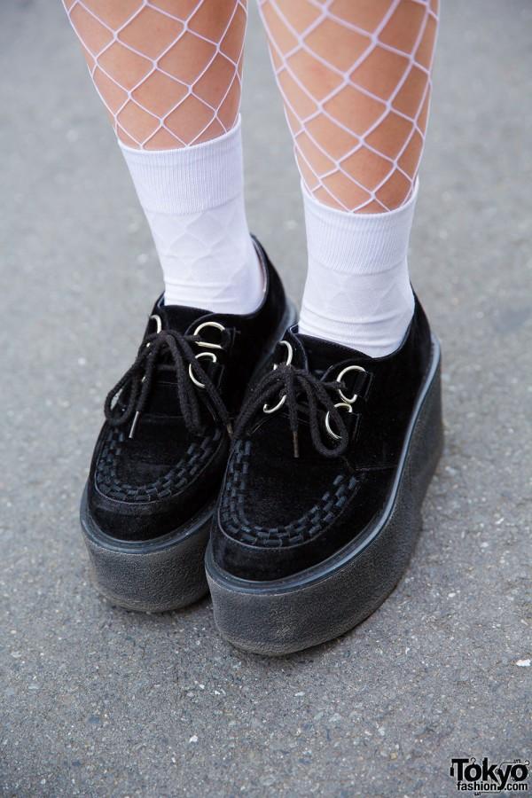 Nadia platform shoes