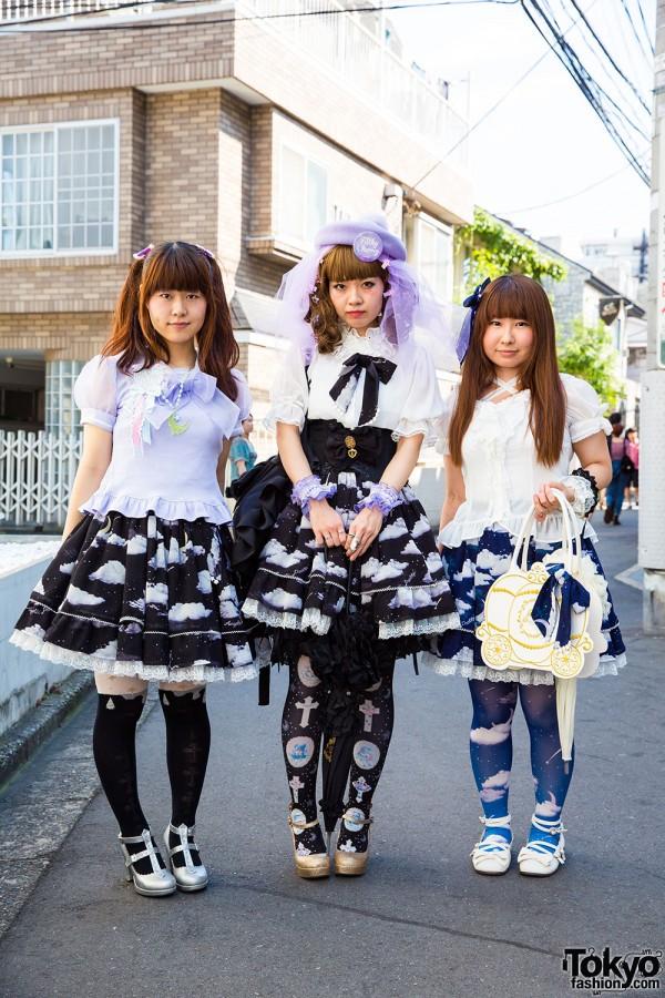 Harajuku Lolita Styles w/ Angelic Pretty, Baby the Stars Shine Bright, Vivienne Westwood, Milk & G.V.G.V.