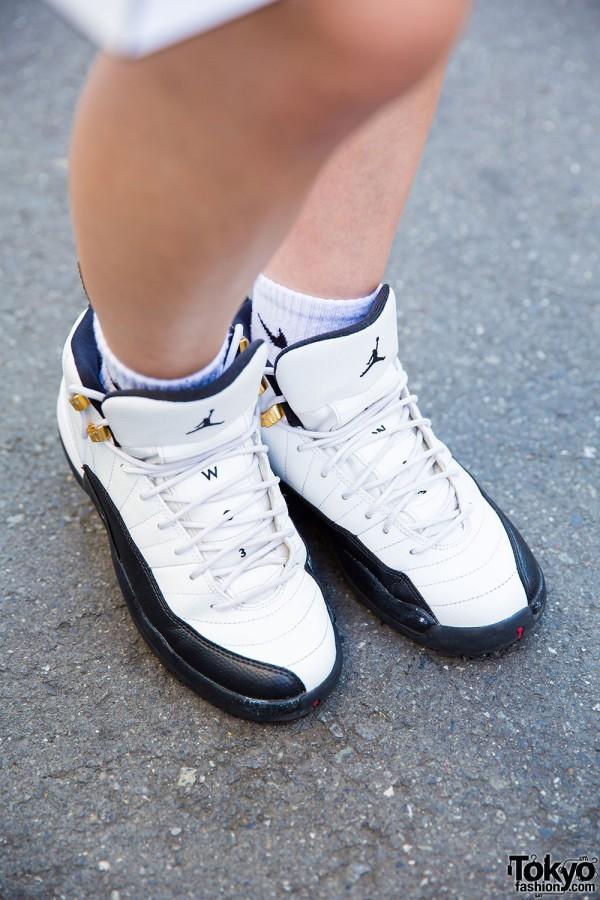 Nike Air Jordan shoes and Nike socks