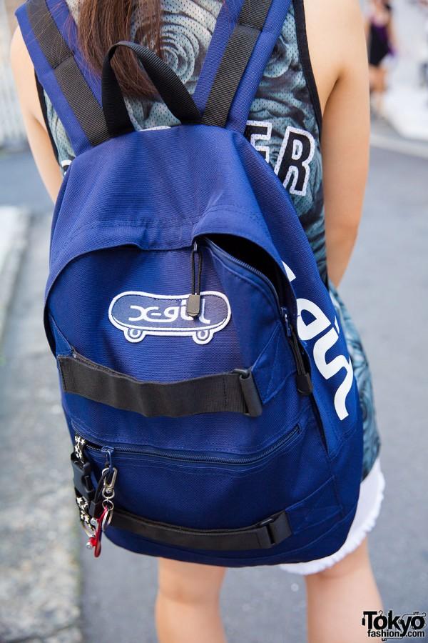 X-Girl backpack