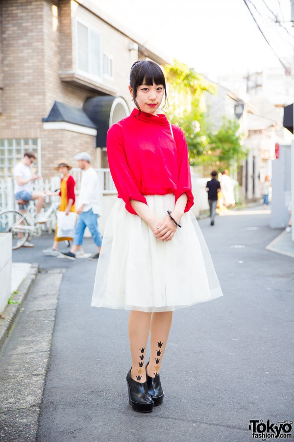 Harajuku Girl in Chic Resale Fashion with Jeffrey Campbell & Utopica