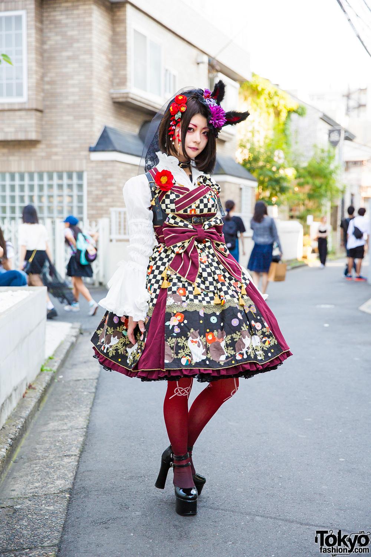 Harajuku Lolita Style W Metamorphose Temps De Fille