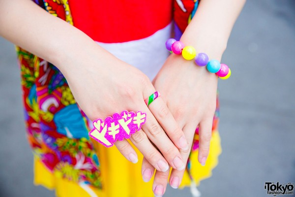 6%DokiDoki and Claire's colorful accessories