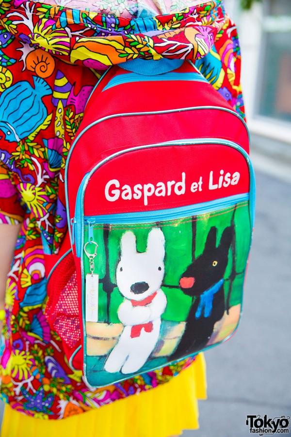 Gaspard et Lisa backpack