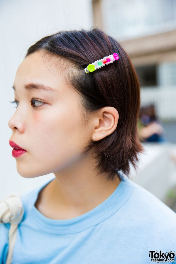 Colorful hair barrettes