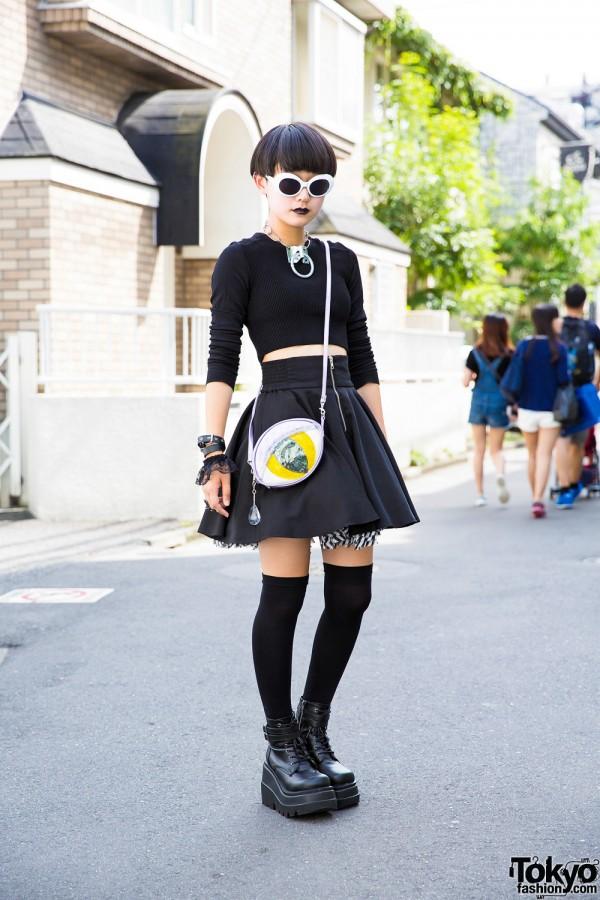 Dark Harajuku Street Fashion w/ Never Mind the XU, Hellcatpunks & Demonia