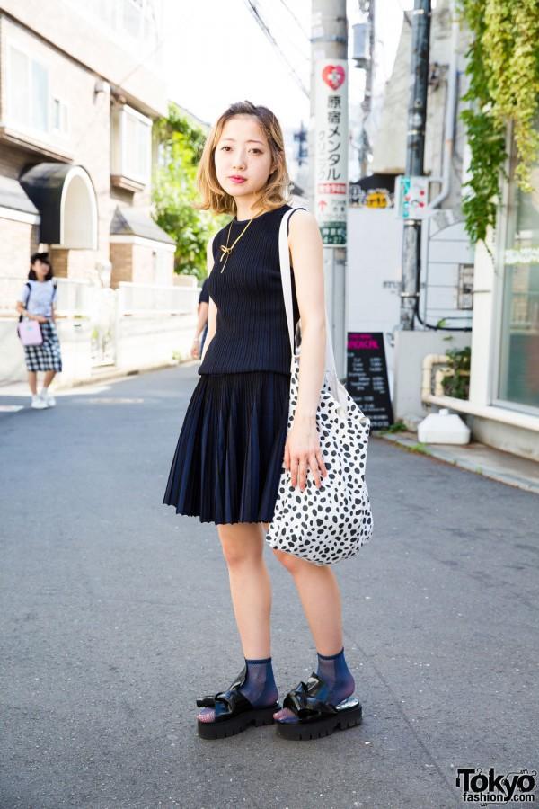 Minimalist Harajuku Fashion w/ Opening Ceremony & N°21 Platform Sandals