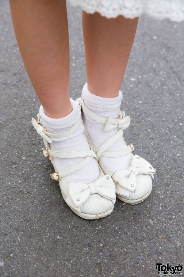 Socks with Angelic Pretty sandals