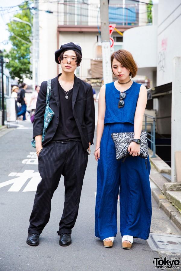 Minimalist Harajuku Street Fashion w/ Connecter Tokyo, MCM & Justin Davis