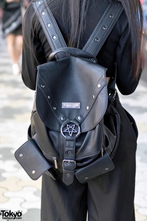 Killstar Black Backpack