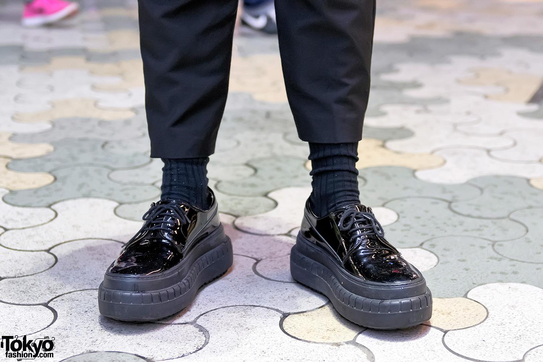 Harajuku Guy's Street Styles w/ Acne
